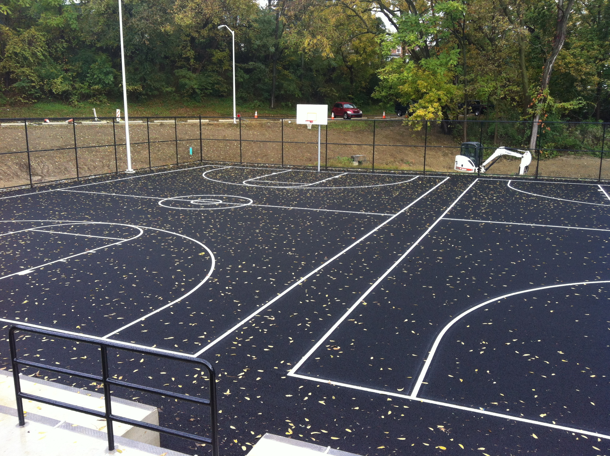 Stormwater fee credits save it for Basketball court construction cost